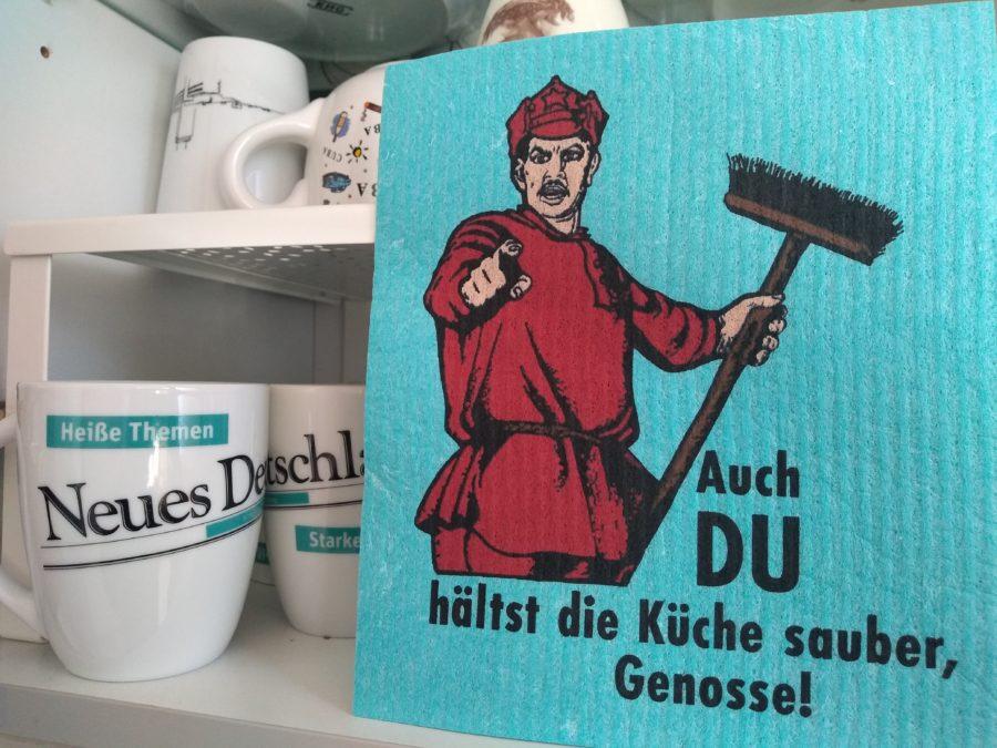 Genosse-Lappen – Franziska Schneider